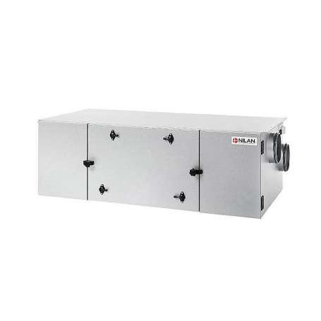 Nilan Comfort CT150 med HMI styring varmegenvindingsanlæg venstre model