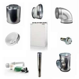 Komplet Nilan Comfort 300 Top F ventilationspakke 175-210 kvm