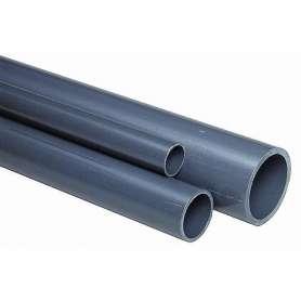 Grå PVC rør 40 MM - Pn 16 - 5 Mtr