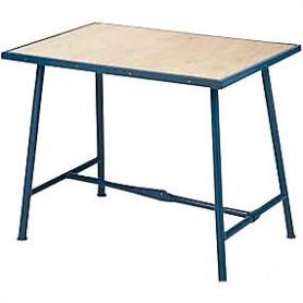 Arbejdsbord blå 1000x625mm