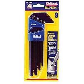 Stiftnøglesæt M/kugle 1,5-10mm