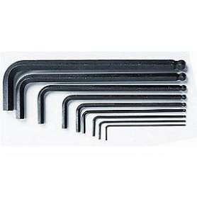 Stiftnøgle m/kugle 5mm