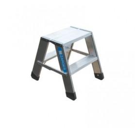 Arbejdsbuk aluminium 2x2 trin
