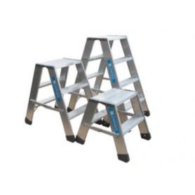 Arbejdsbuk aluminium 2x4 trin