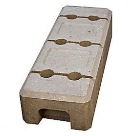 Byggepladshegn, betonfod