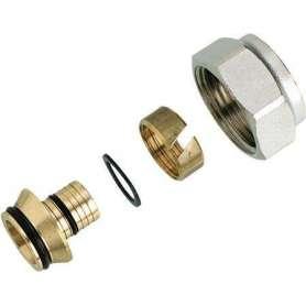 Klemringsfittings for tilslutning af Danfoss ventiler og manifolde til PEX plastrør