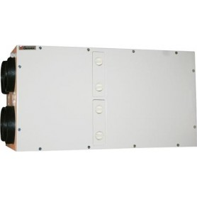 Genvex ECO180 BP OPT250B HW, loftmodel, Ø160 med Optima 250 hvid panel