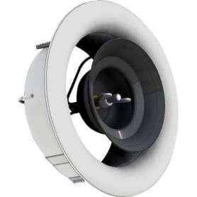 Ventilhus AIRYB Ø125 mm til AIRYFB frontplade. Monteres i kanalsystem, farve RAL9003
