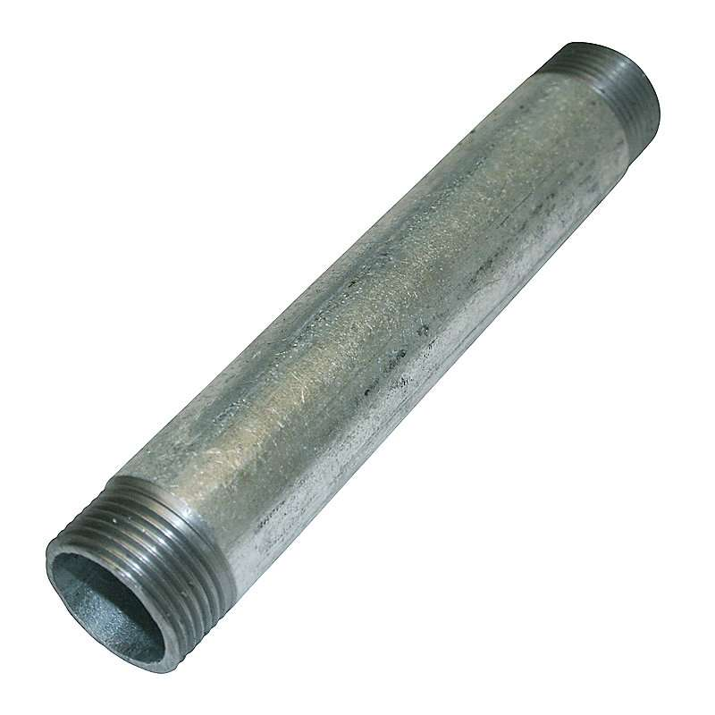 """Galvaniseret nippelrør - 1¼"""" x 50 mm"""