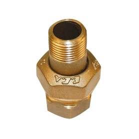 Messing radiator forskruning M/N 3/4''
