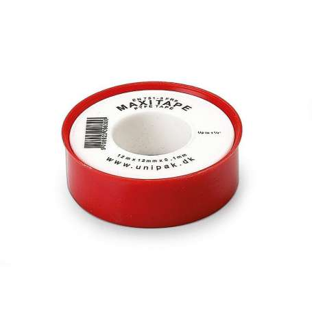 Unipak maxitape PTFE 12 MM gevindtape