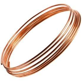 Bløde kobberrør i ruller af 50 meter - 15 mm