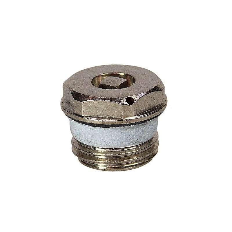 Udluftningsskrue til radiator nøgle med O-ring1/2''
