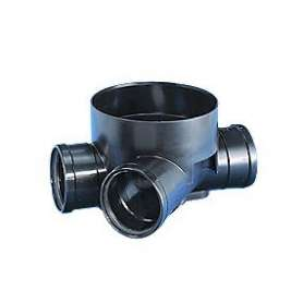 Rense/inspektionsbrønd type 3, til glatte rør315 X 200 MM